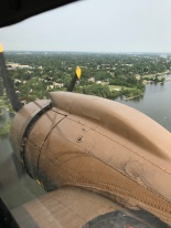 Approach for landing at Oshkosh